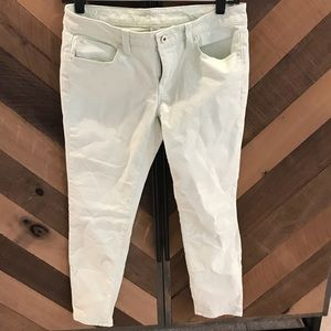 LOFT Mint Green ankle skinnies